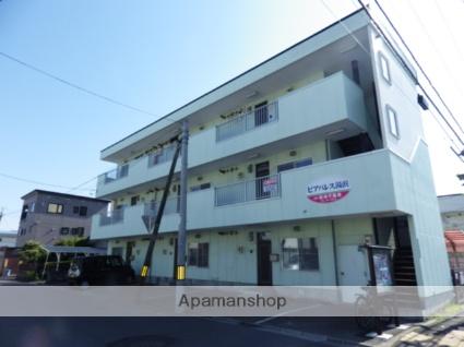 北海道函館市、湯の川温泉駅徒歩12分の築27年 3階建の賃貸アパート