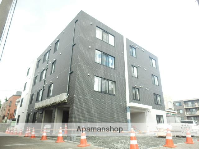北海道札幌市豊平区、平岸駅徒歩17分の築2年 4階建の賃貸マンション
