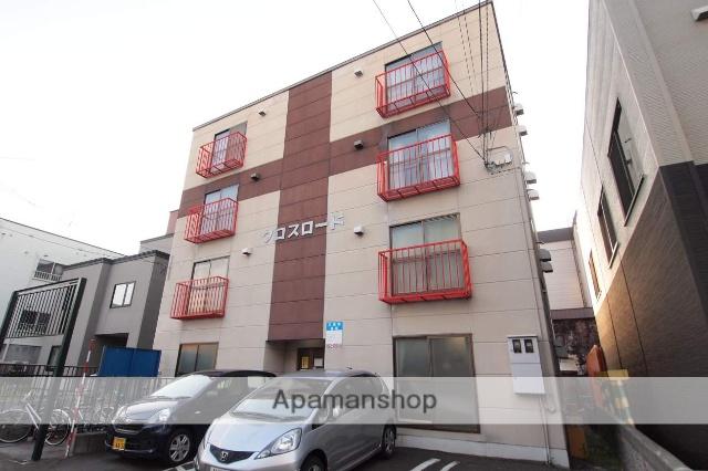 北海道札幌市豊平区、白石駅徒歩10分の築28年 4階建の賃貸マンション