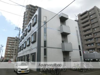 北海道札幌市豊平区、東札幌駅徒歩16分の築28年 3階建の賃貸マンション