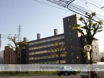 北海道札幌市豊平区、平岸駅徒歩18分の築39年 6階建の賃貸マンション