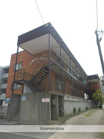 北海道札幌市中央区、幌平橋駅徒歩9分の築32年 3階建の賃貸アパート
