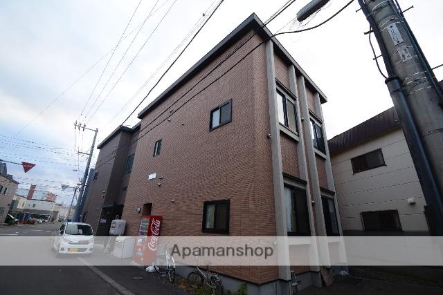 北海道札幌市豊平区、中の島駅徒歩7分の築11年 2階建の賃貸アパート