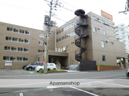 北海道札幌市豊平区、中の島駅徒歩12分の築35年 4階建の賃貸マンション