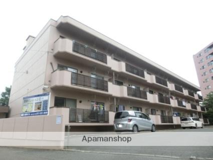 北海道札幌市南区、真駒内駅徒歩8分の築32年 3階建の賃貸マンション