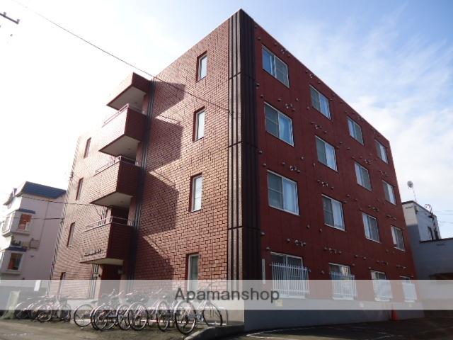 北海道札幌市南区、南平岸駅徒歩25分の築23年 4階建の賃貸マンション