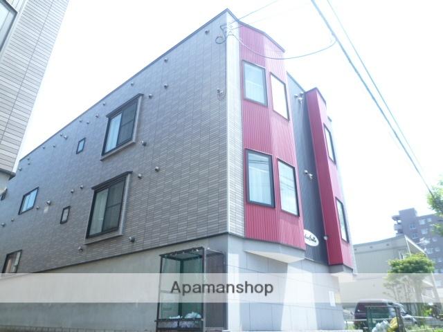 北海道札幌市豊平区、東札幌駅徒歩13分の築10年 3階建の賃貸アパート