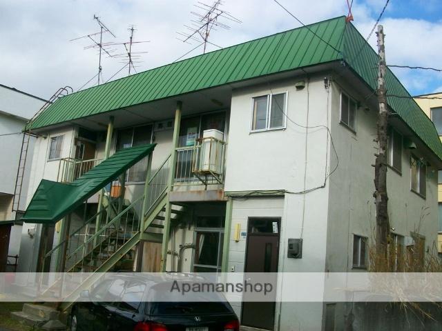 北海道札幌市南区、澄川駅徒歩11分の築41年 2階建の賃貸アパート