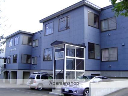 北海道札幌市南区、真駒内駅じょうてつバス20分中ノ沢入り口下車後徒歩2分の築24年 3階建の賃貸アパート