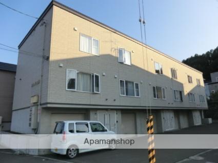 北海道札幌市南区、真駒内駅じょうてつバスバス18分南沢1-3下車後徒歩2分の築14年 3階建の賃貸テラスハウス