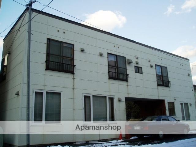 北海道札幌市中央区、石山通駅徒歩11分の築30年 2階建の賃貸アパート