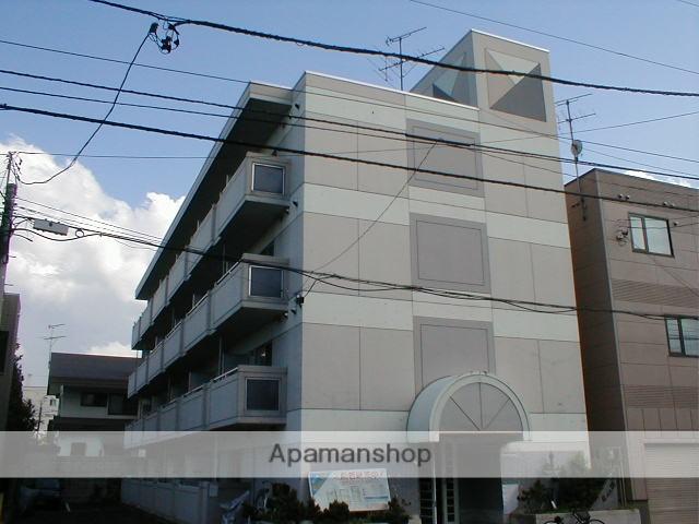 北海道札幌市中央区、西線14条駅徒歩9分の築30年 4階建の賃貸マンション