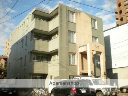 北海道札幌市中央区、ロープウェイ入口駅徒歩3分の築19年 4階建の賃貸マンション
