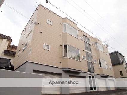 北海道札幌市南区、南平岸駅徒歩20分の築23年 2階建の賃貸アパート