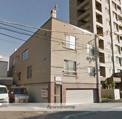 北海道札幌市豊平区、菊水駅徒歩16分の築30年 3階建の賃貸アパート