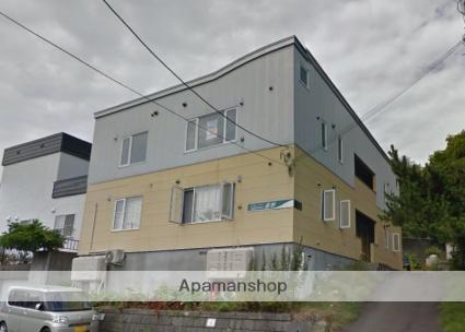 北海道札幌市南区、真駒内駅じょうてつバスバス18分藤野3-2下車後徒歩3分の築11年 2階建の賃貸アパート