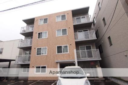 北海道札幌市豊平区、白石駅徒歩15分の築8年 4階建の賃貸マンション