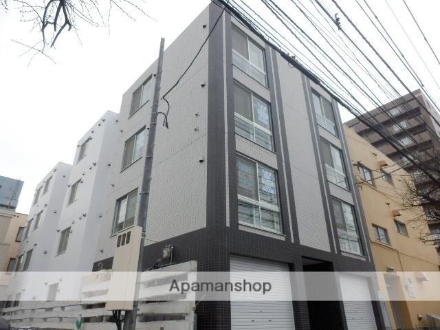 北海道札幌市豊平区、菊水駅徒歩10分の築2年 4階建の賃貸マンション