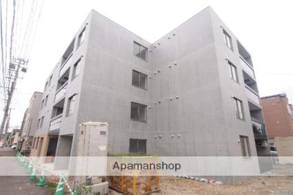 北海道札幌市豊平区、白石駅徒歩12分の築1年 4階建の賃貸マンション