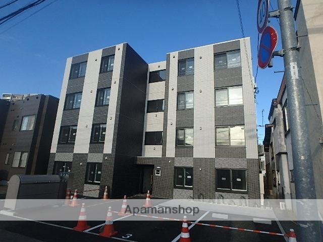 北海道札幌市豊平区、平岸駅徒歩13分の新築 4階建の賃貸マンション
