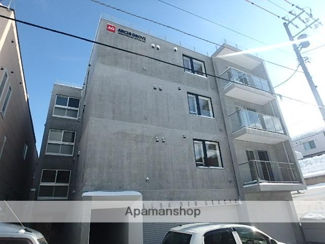 北海道札幌市豊平区、白石駅徒歩10分の新築 4階建の賃貸マンション