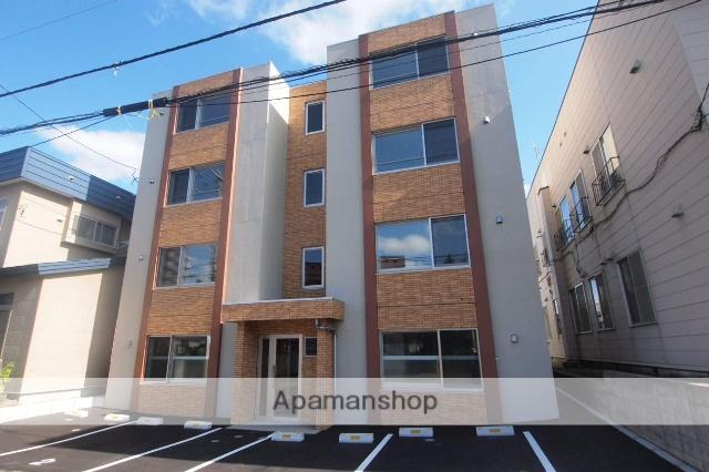 北海道札幌市豊平区、美園駅徒歩20分の新築 4階建の賃貸マンション