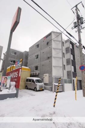 北海道札幌市豊平区、白石駅徒歩13分の新築 4階建の賃貸マンション