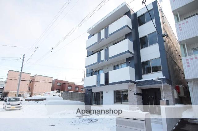 北海道札幌市豊平区、月寒中央駅徒歩13分の新築 4階建の賃貸マンション