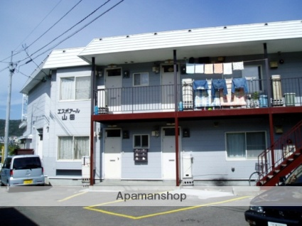北海道札幌市南区、真駒内駅じょうてつバスバス16分藻岩小学校前下車後徒歩4分の築28年 2階建の賃貸アパート