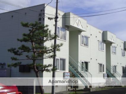 北海道札幌市南区、真駒内駅じょうてつバスバス10分川沿5−3下車後徒歩2分の築28年 2階建の賃貸アパート