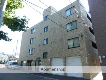 北海道札幌市豊平区、幌平橋駅徒歩9分の築13年 4階建の賃貸マンション