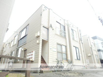 北海道札幌市豊平区、平岸駅徒歩19分の築26年 2階建の賃貸アパート