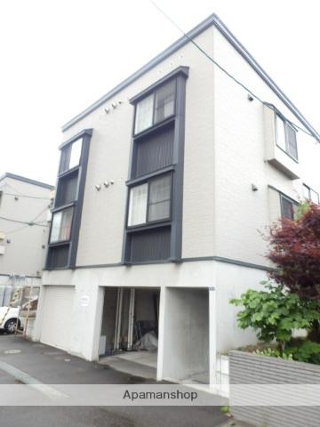 北海道札幌市豊平区、中島公園駅徒歩12分の築13年 3階建の賃貸アパート