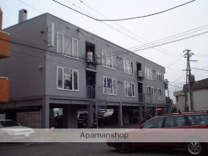 北海道札幌市豊平区、月寒中央駅徒歩9分の築32年 3階建の賃貸アパート