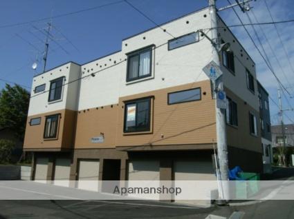 北海道札幌市豊平区、美園駅徒歩11分の築9年 3階建の賃貸アパート
