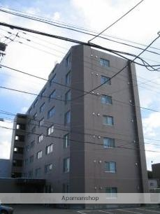 北海道札幌市豊平区、美園駅徒歩14分の築37年 7階建の賃貸マンション