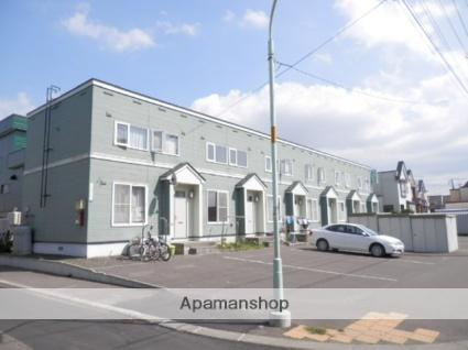 北海道札幌市白石区、白石駅中央バスバス11分川北橋下車後徒歩6分の築23年 2階建の賃貸テラスハウス