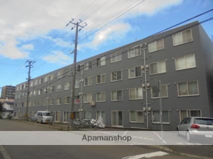 北海道札幌市厚別区、厚別駅徒歩12分の築27年 4階建の賃貸マンション