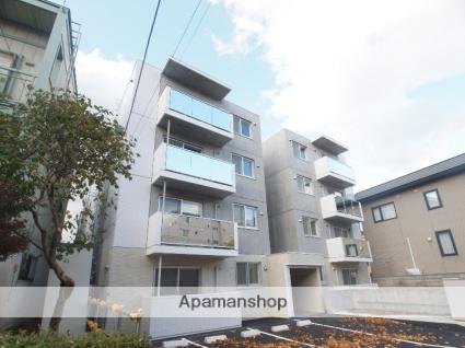 北海道札幌市厚別区、新札幌駅徒歩10分の新築 4階建の賃貸マンション
