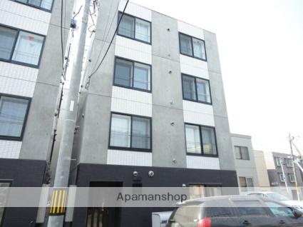 北海道札幌市白石区、菊水駅徒歩3分の築4年 4階建の賃貸マンション