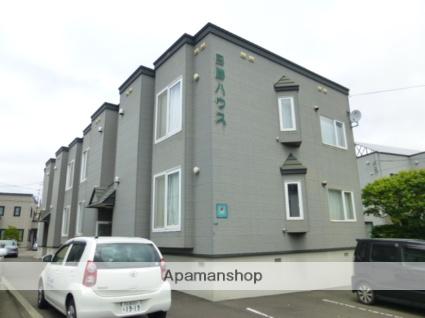 北海道札幌市豊平区、白石駅徒歩17分の築14年 2階建の賃貸アパート