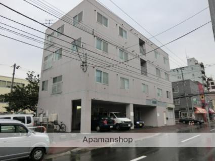 北海道札幌市白石区、苗穂駅徒歩18分の築28年 4階建の賃貸マンション