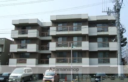 北海道札幌市白石区、菊水駅徒歩7分の築26年 4階建の賃貸マンション
