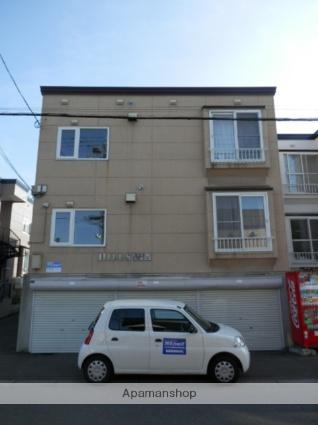 北海道札幌市白石区、白石駅徒歩9分の築22年 3階建の賃貸アパート