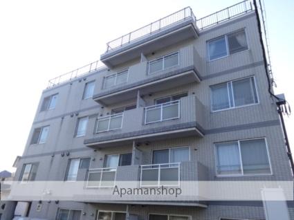 北海道札幌市西区、発寒駅徒歩10分の築13年 4階建の賃貸マンション