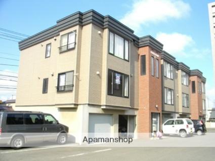 北海道札幌市西区、発寒中央駅徒歩5分の築16年 3階建の賃貸アパート