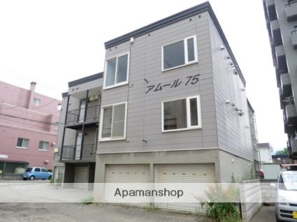 北海道札幌市西区、発寒中央駅徒歩6分の築27年 3階建の賃貸アパート