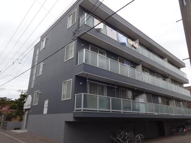 北海道札幌市西区、発寒南駅徒歩20分の築22年 4階建の賃貸マンション