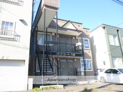 北海道札幌市西区、琴似駅徒歩6分の築18年 2階建の賃貸アパート