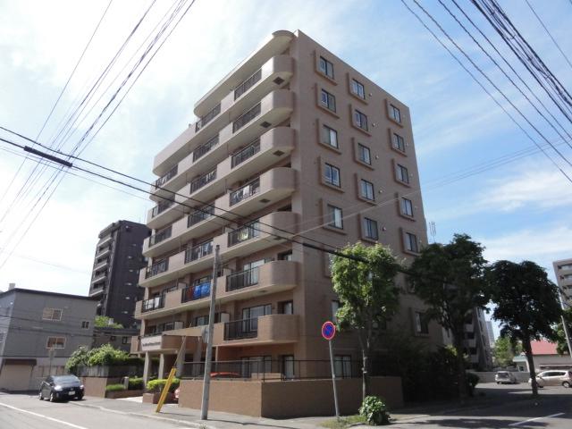 北海道札幌市中央区、円山公園駅徒歩10分の築20年 8階建の賃貸マンション